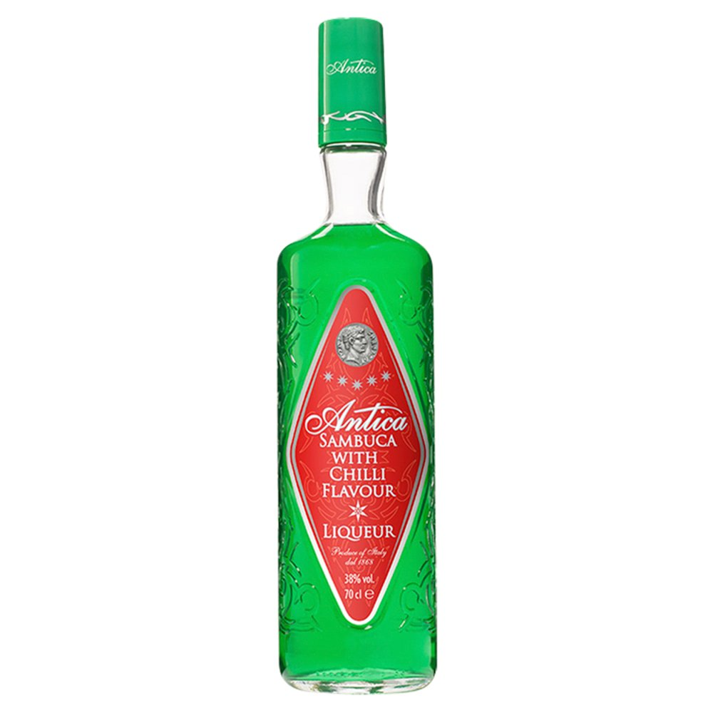 Antica Sambuca with Chilli Flavour Liqueur 70cl