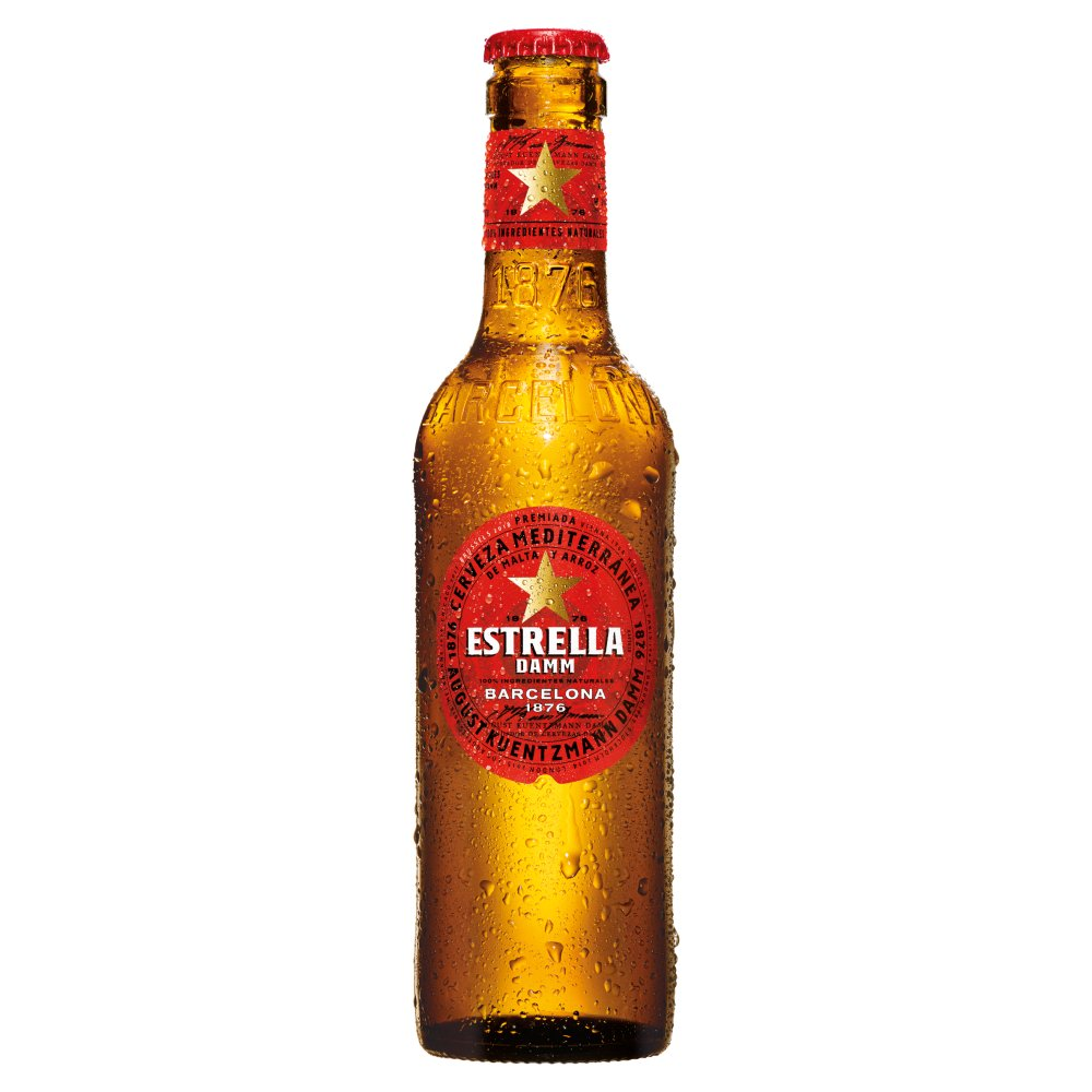 Estrella Damm Non Returnable Bottle