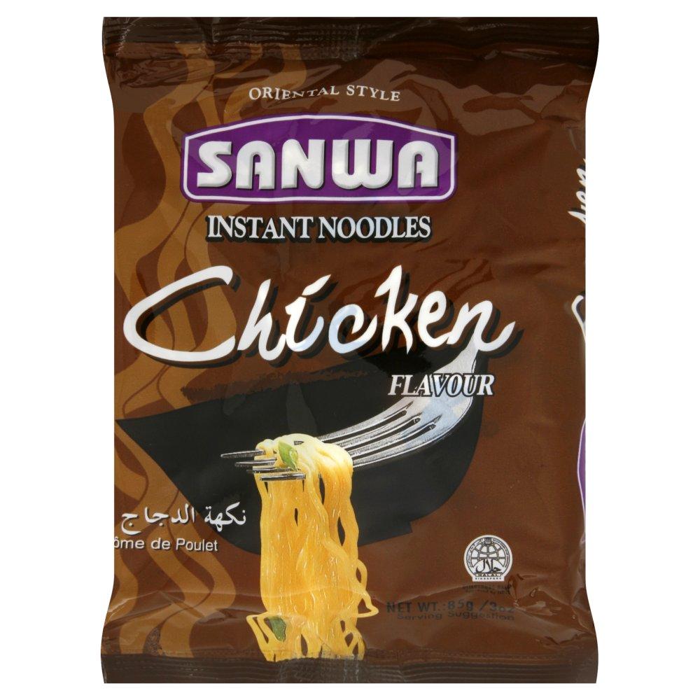 Sanwa Oriental Style Instant Noodles Chicken Flavour 85g