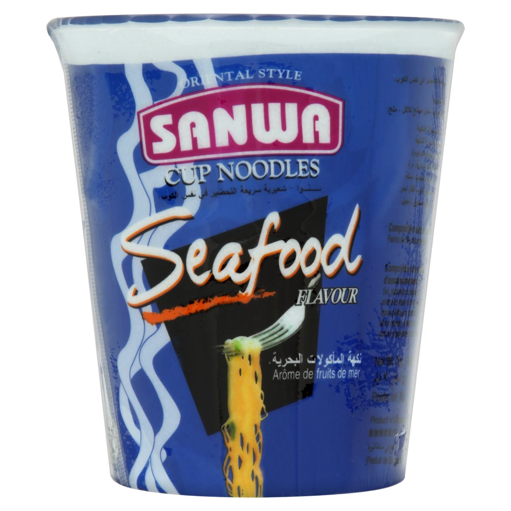 Sanwa Seafood Cup Noodle 70g