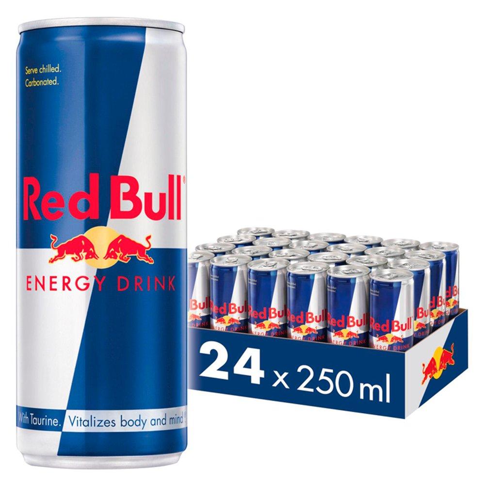 Red Bull Energy Drink, 24 x 250ml