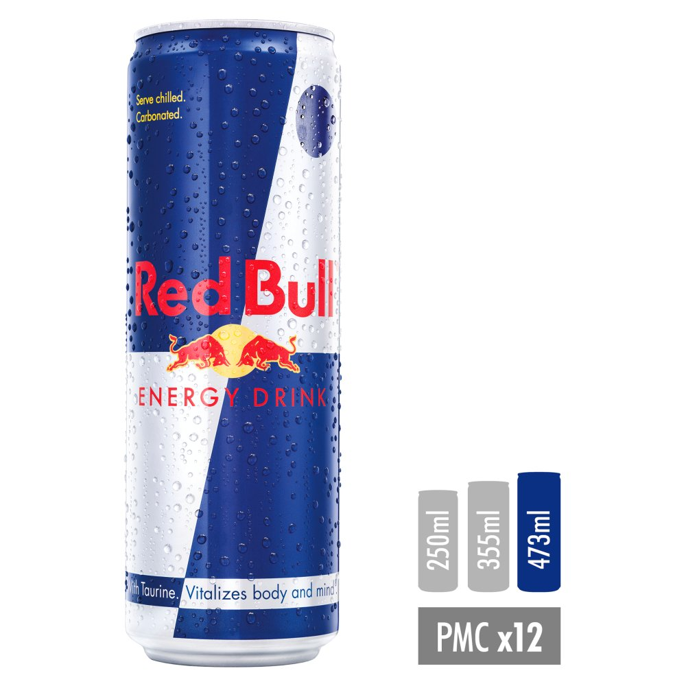 Red Bull Energy Drink, 473ml, Price Marked £1.99