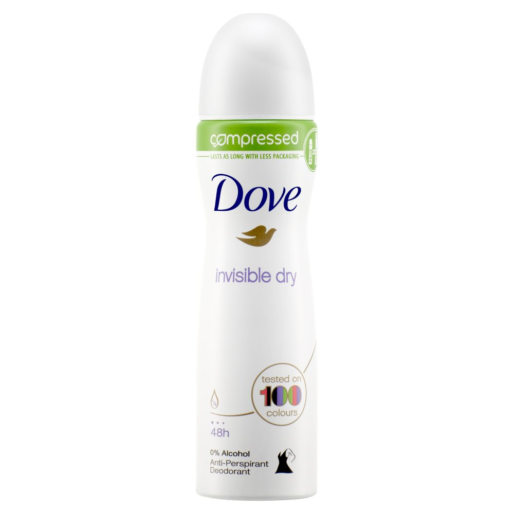 Dove Invisible Anitperspirant Aerosole
