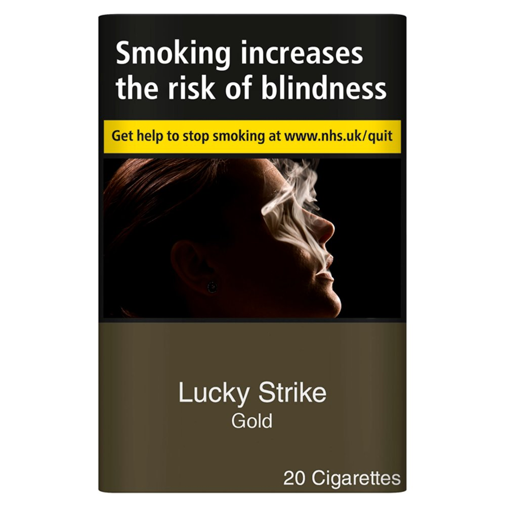 Lucky Strike Kingsize Gold