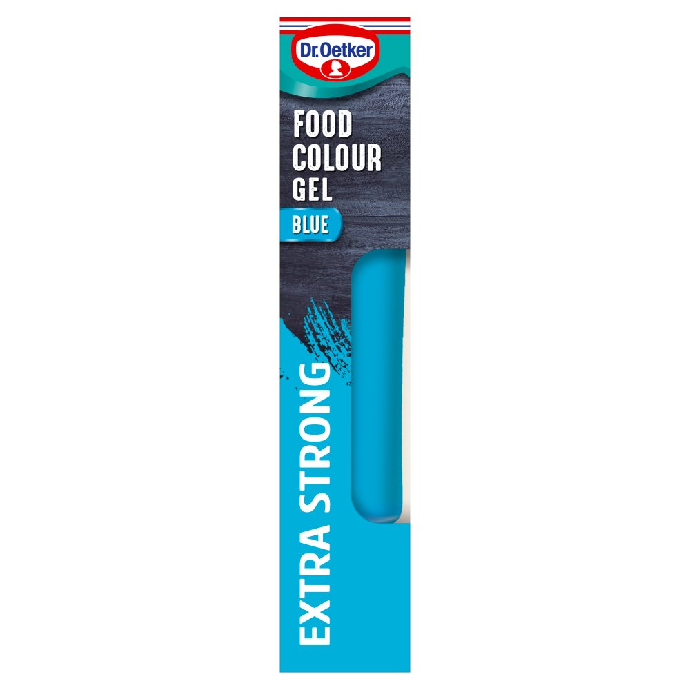 Dr. Oetker Blue Extra Strong Food Colour Gel 15g