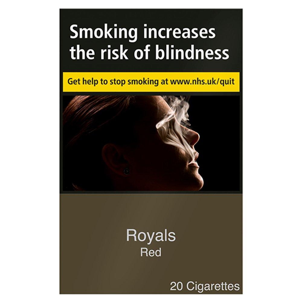 Royals Red 20 Cigarettes