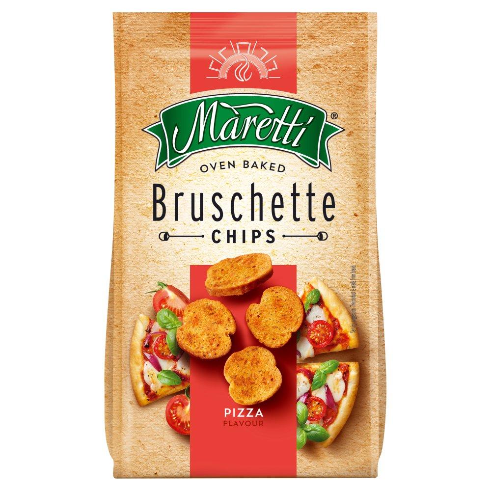 Maretti Oven Baked Bruschette Chips Pizza Flavour 70g