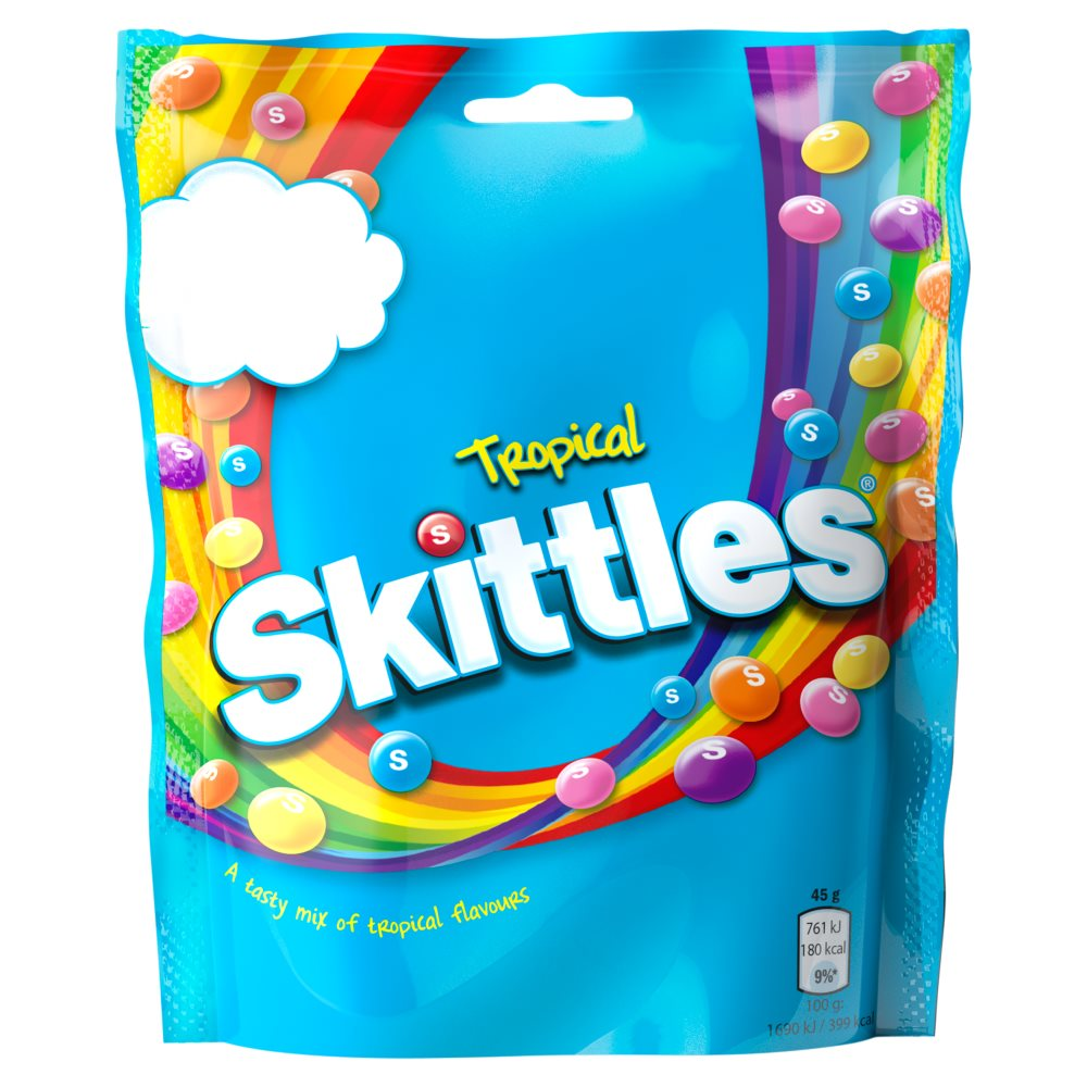 Skittles Tropical Pouch