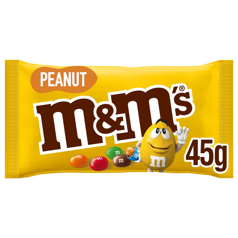 M&M's Peanut Chocolate Bag 45g