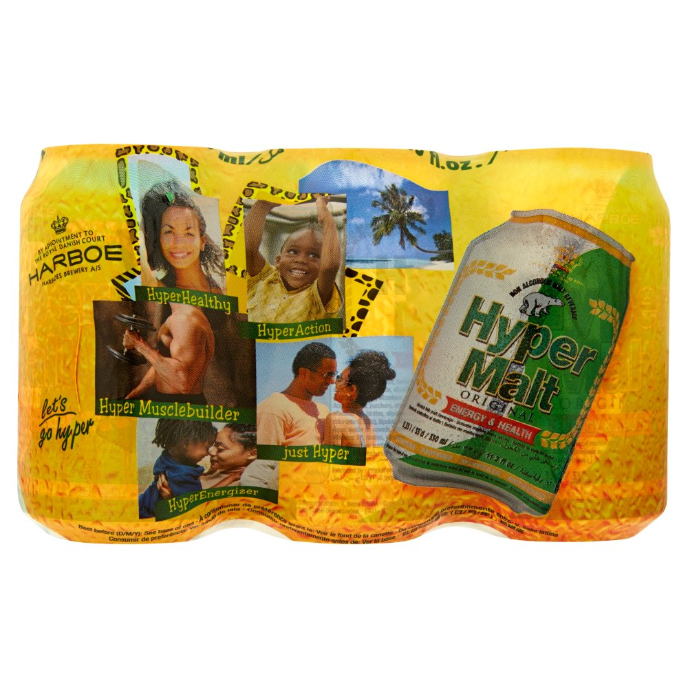 Hyper Malt Can 6pack