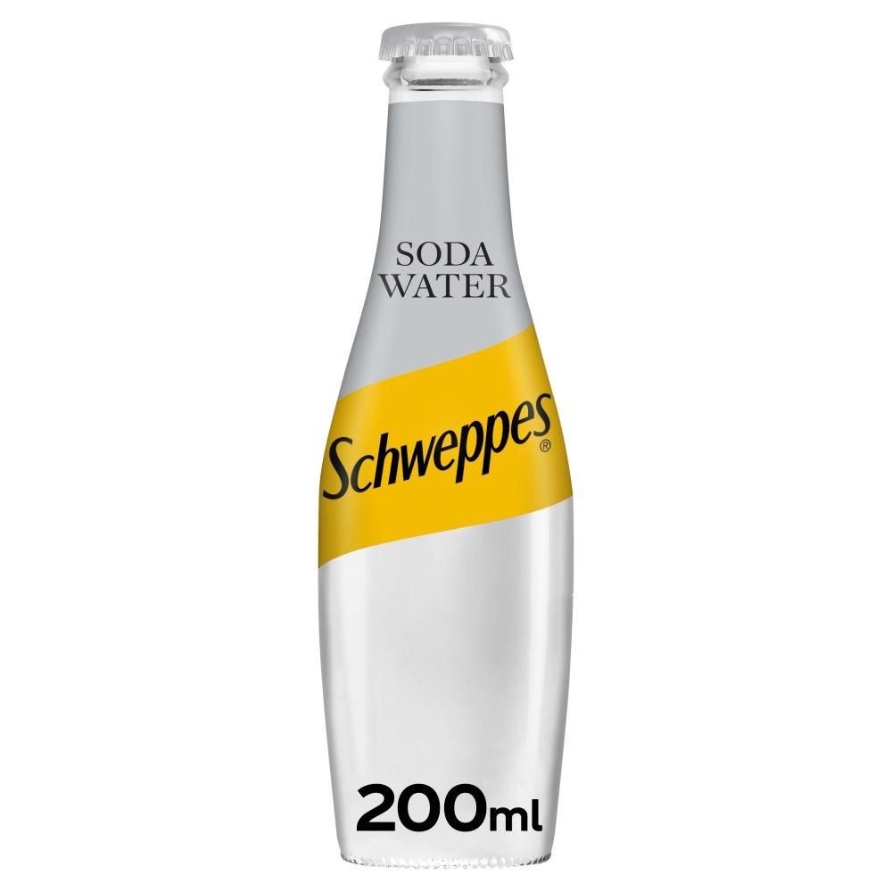 Schweppes Soda Water 200ml