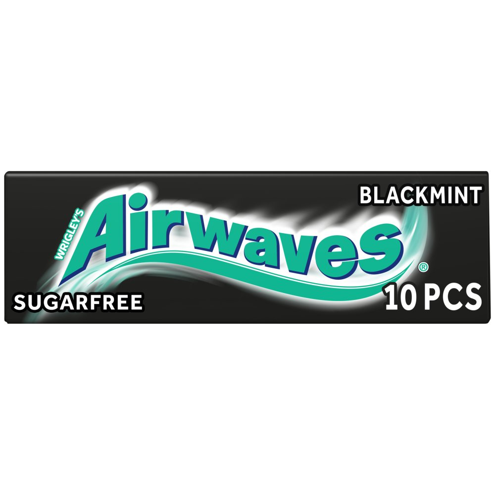 Wrigleys Airwaves Black Mint 10pce
