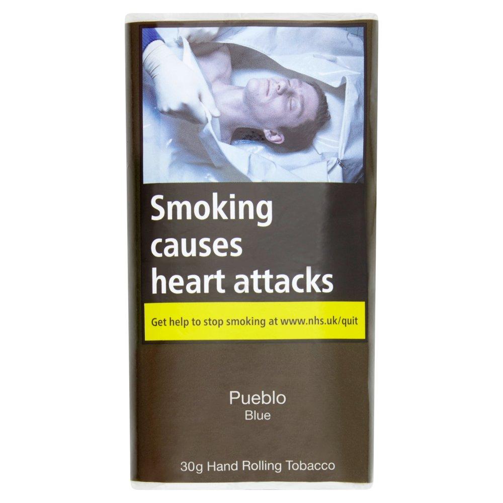 Pueblo Blue Hand Rolling Tobacco 30g