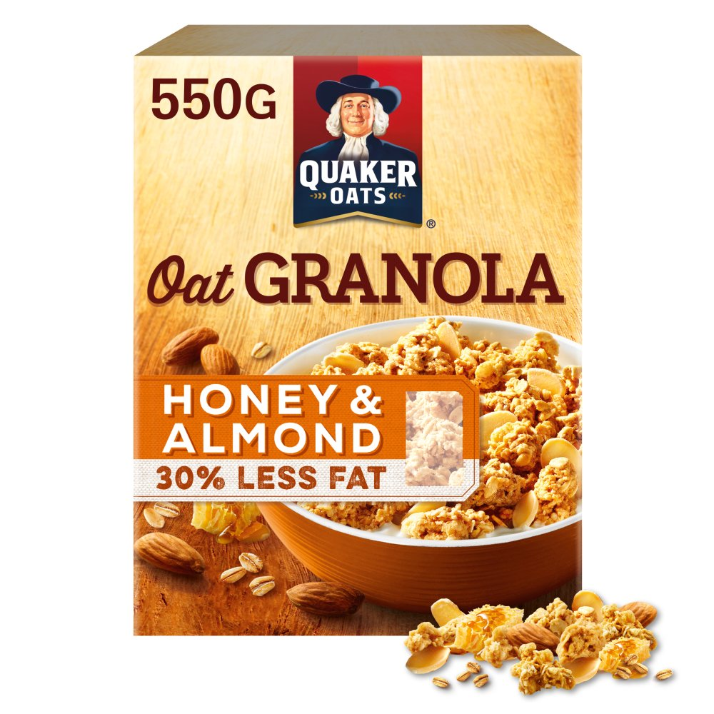 Quaker Oats Granola Honey & Almond