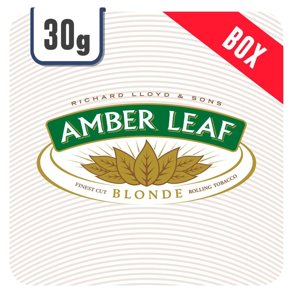 Amber Leaf Blonde 6 x 30g