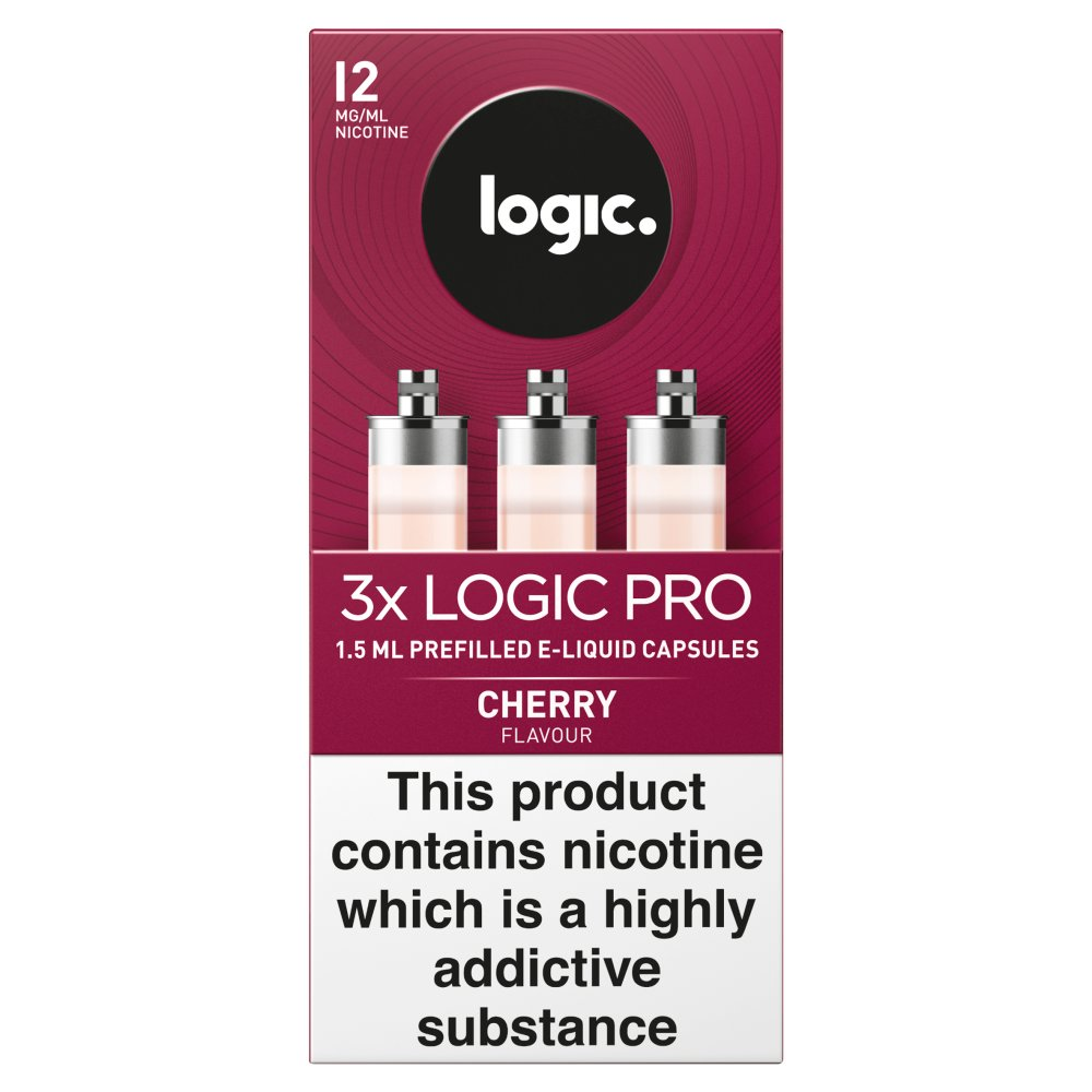 Logic Pro Red Cherry Capsules 12Mg