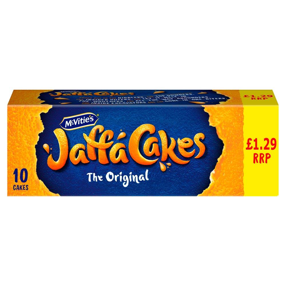 McVitie's Jaffa Cakes Original Biscuits £1.29 PMP 10 Pack