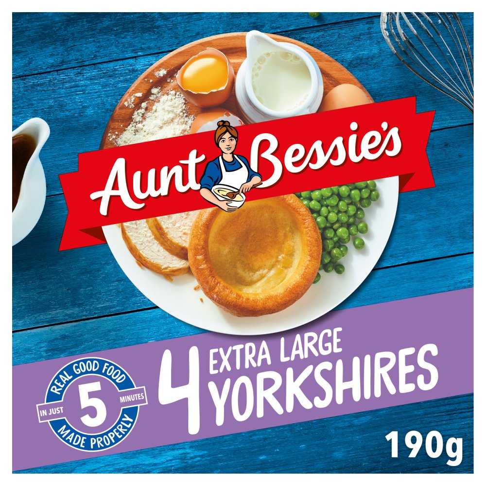 Aunt Bessie's 4 Extra Large Yorkshires 160g