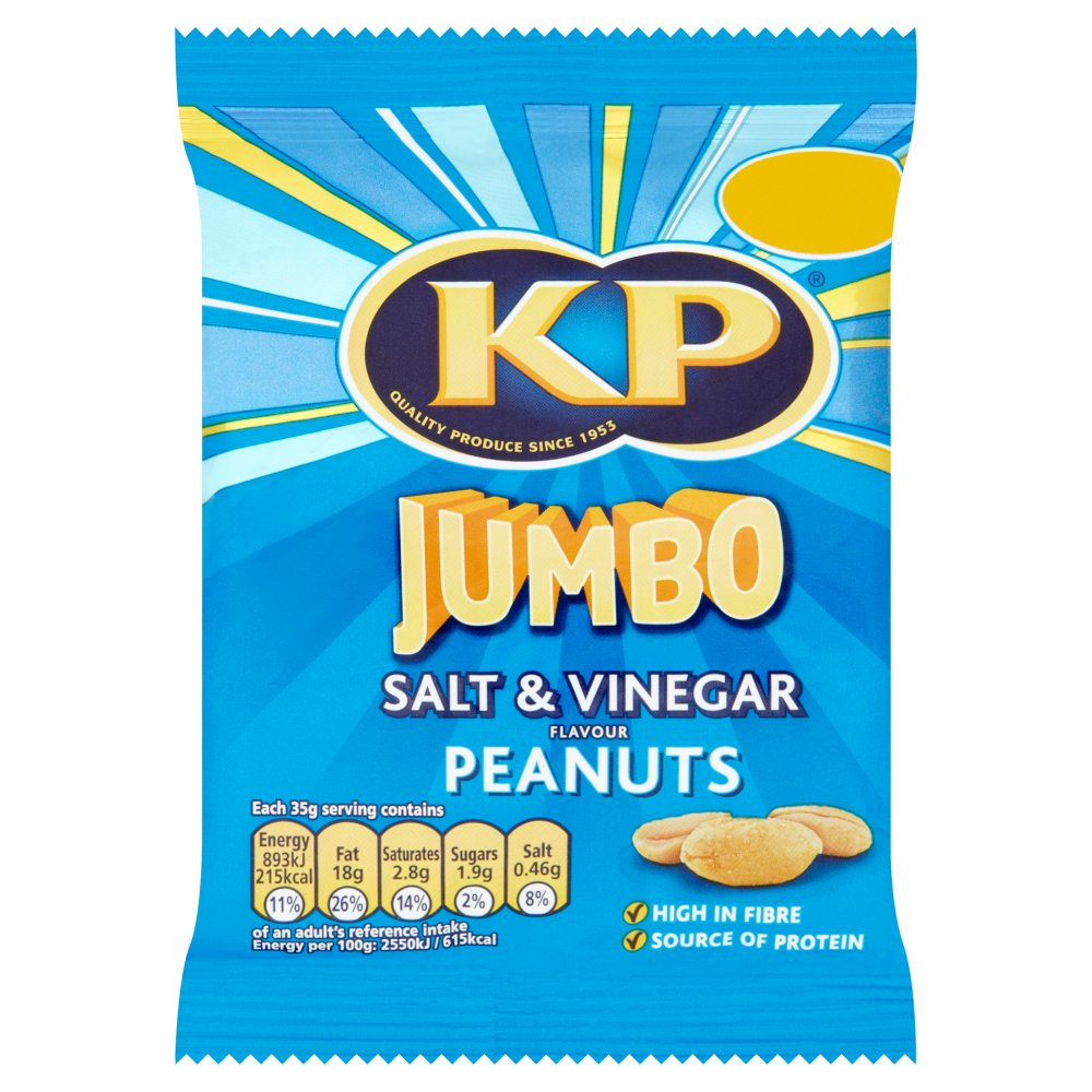 KP Salt & Vinegar Peanut PM £1