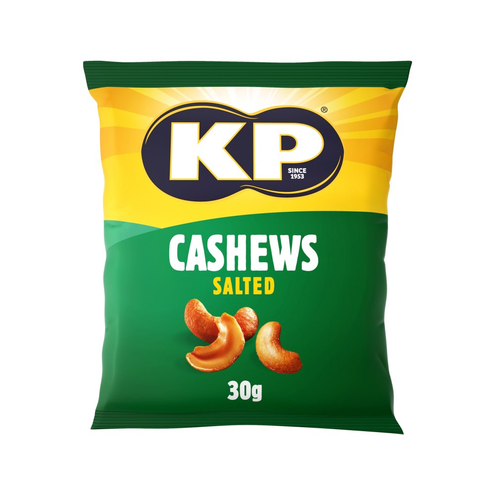 KP Salted Cashew Pubcard