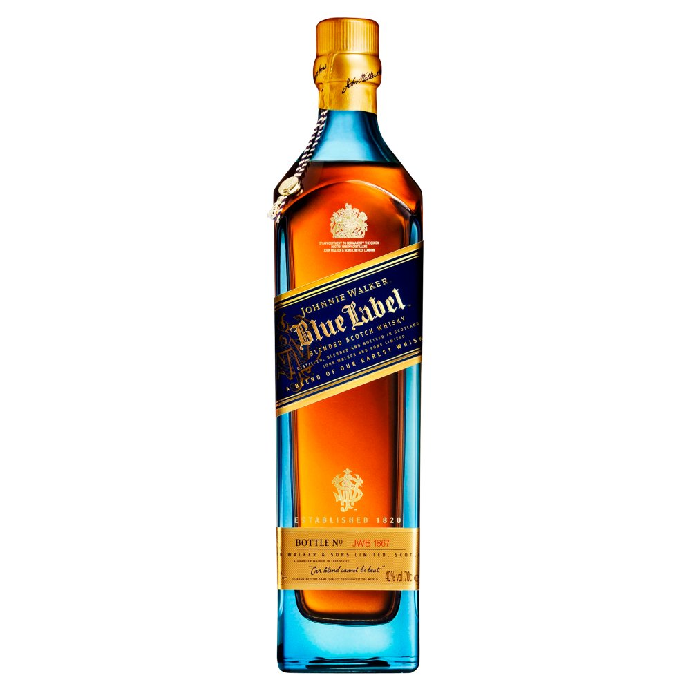 Johnie Walker Blue Label Blended Scotch Whisky70C