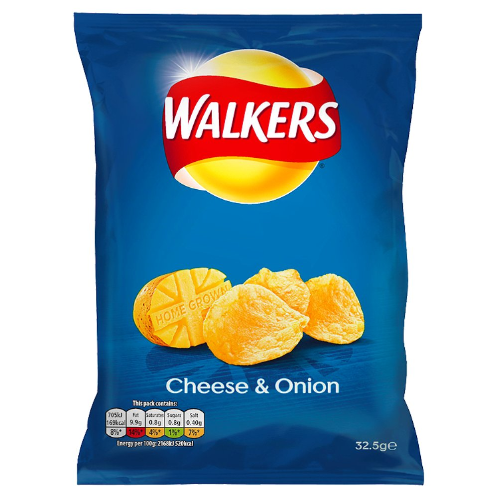 Walkers Cheese & Onion 50p