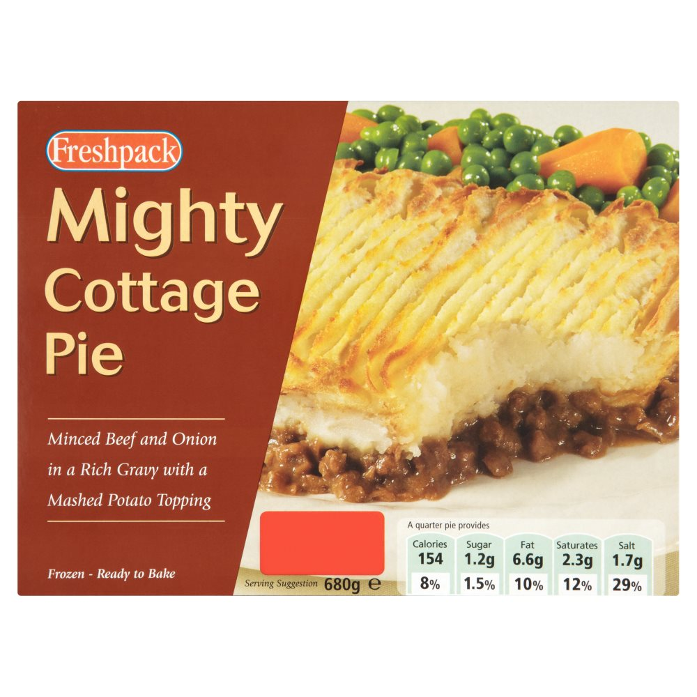 Freshpack Mighty Cottage Pie PM £1.49