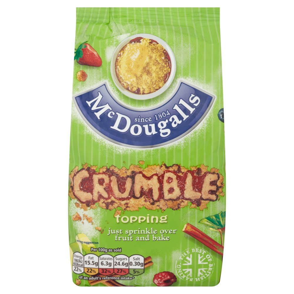 Mcdougalls Crumble Mix