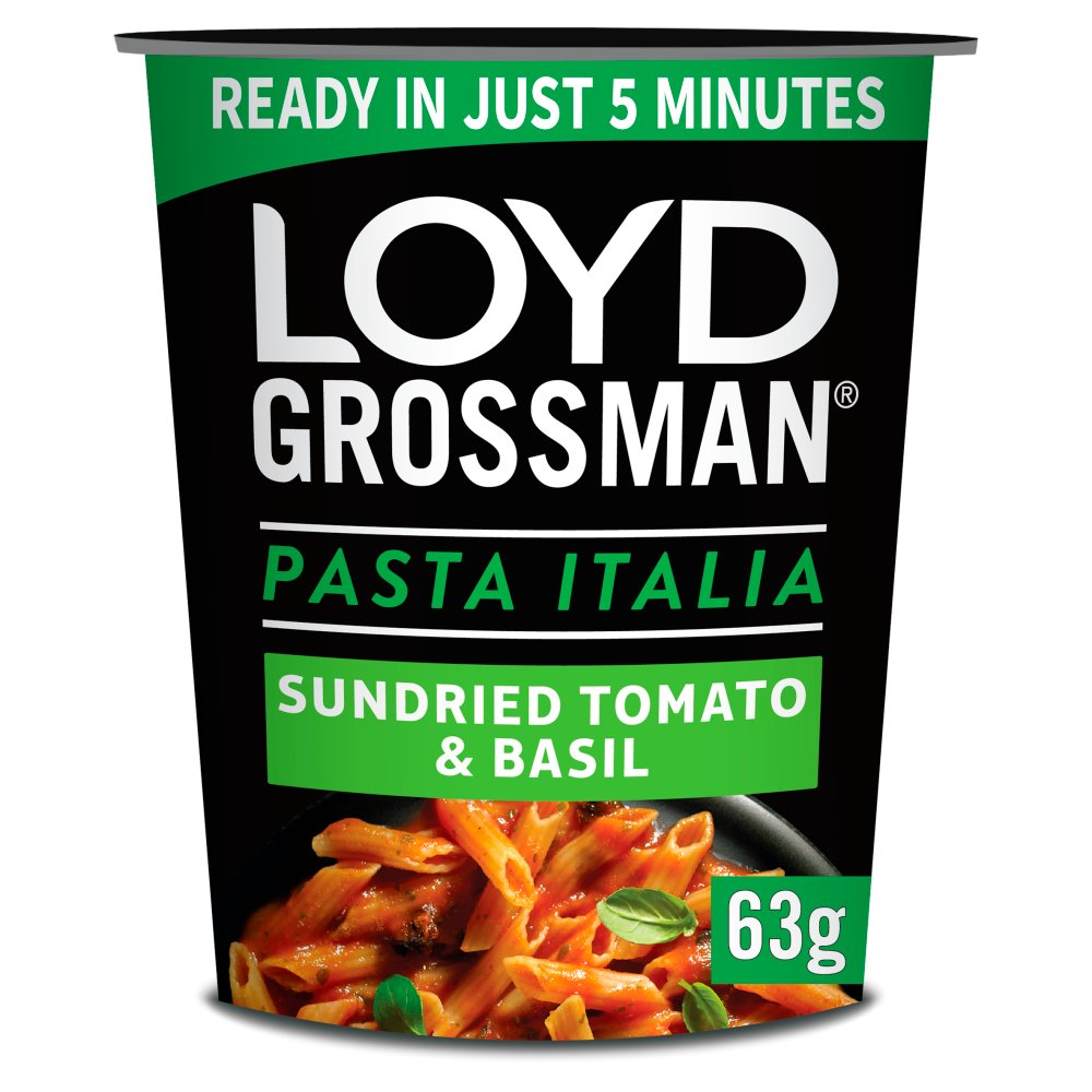 Loyd Grossman Pasta Italia Sundried Tomato & Basil Pot 63g