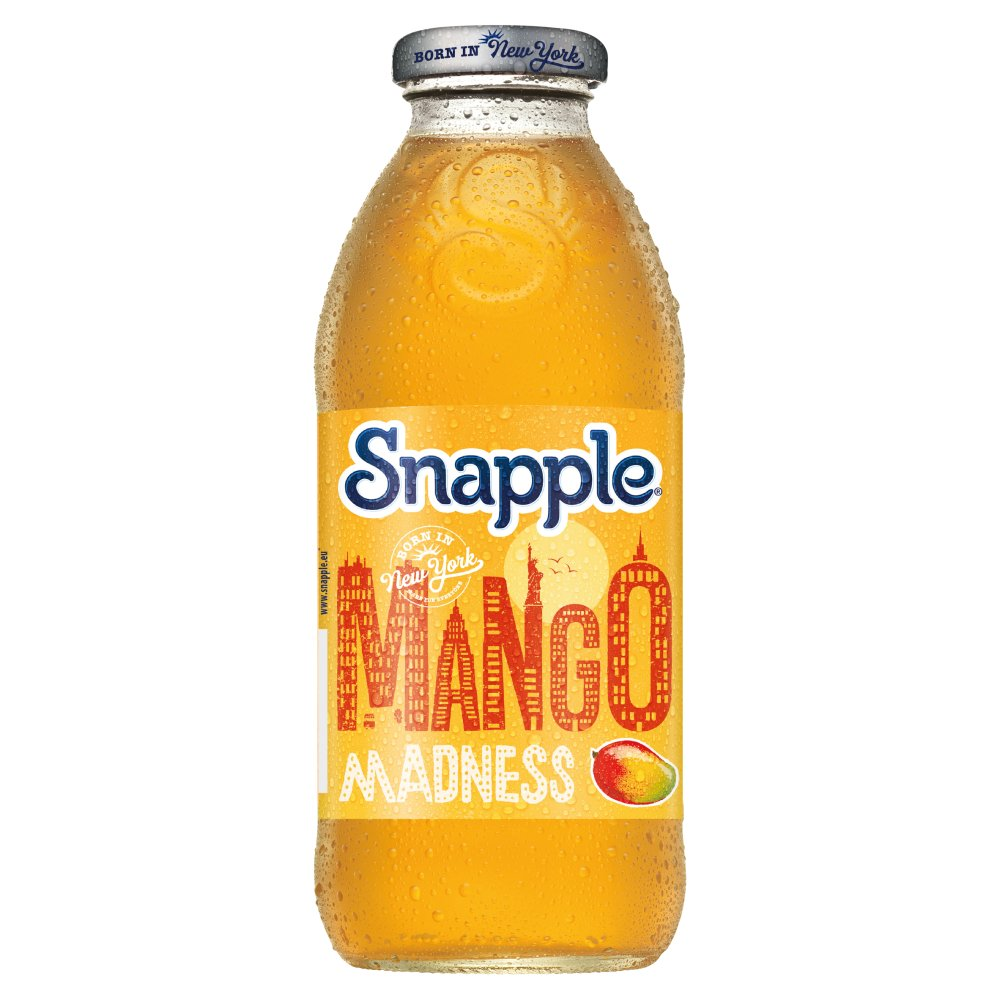 Snapple Mango 473ml Bottles