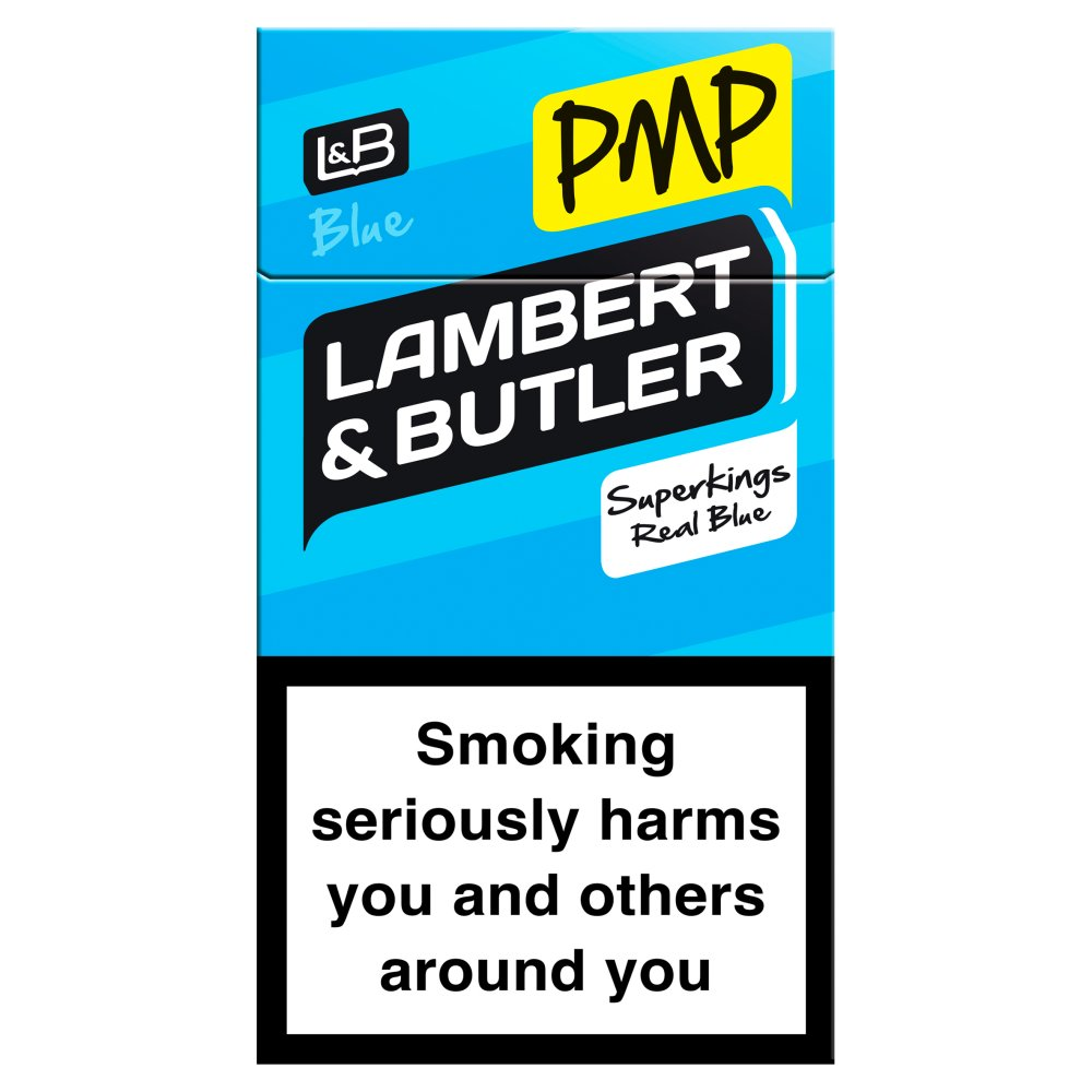 Lambert & Butler Superking Blue Real Blue £7.40