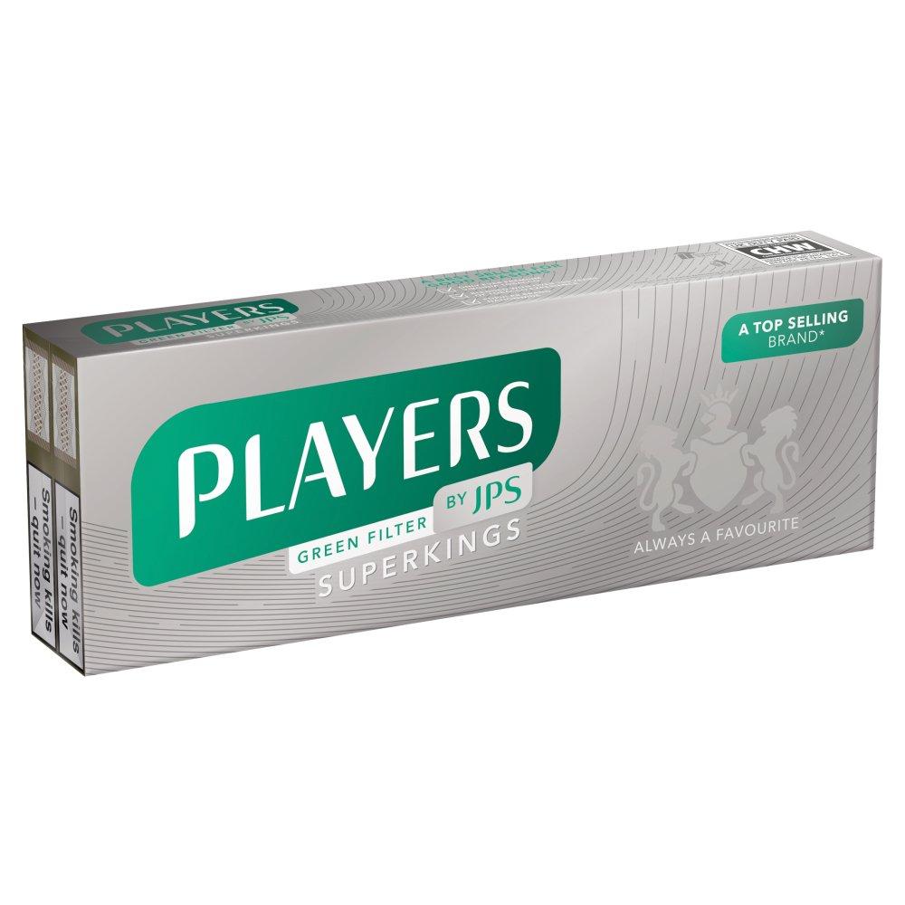 JPS Players Green Filter SKS 20s
