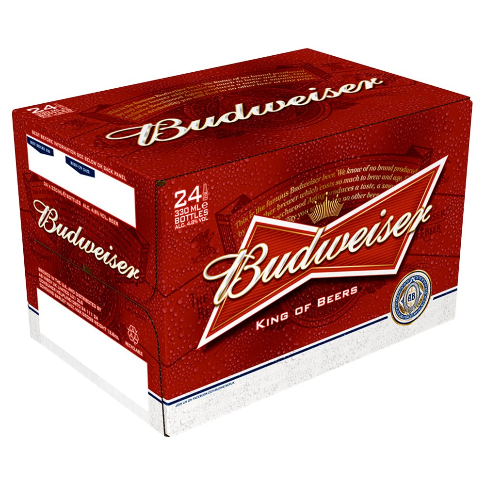 Budweiser 4.8 Percent Non Returnable Bottle