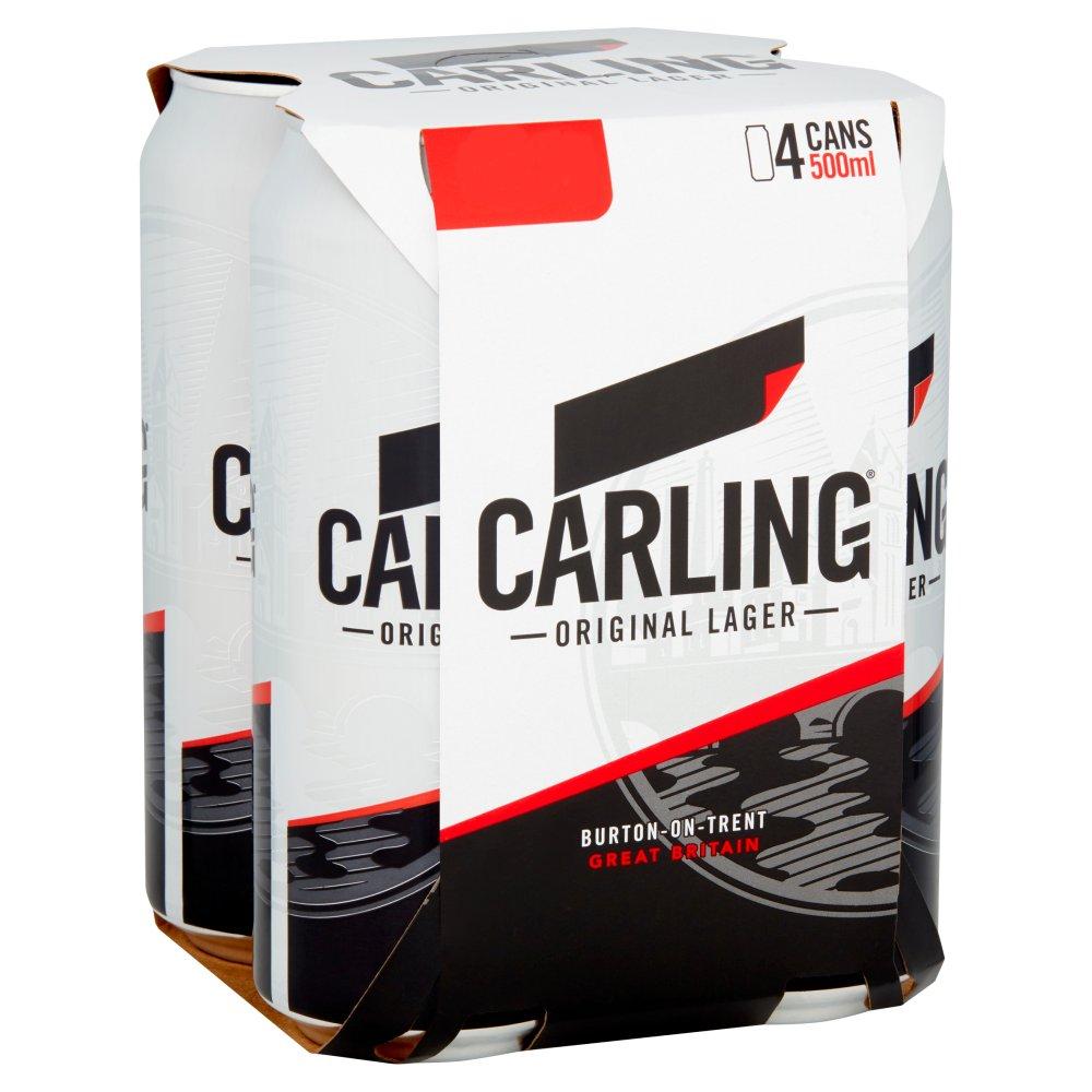 Carling Original Lager 6x4 500ml