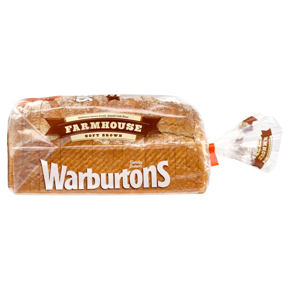 Warburtons Brown Farmhouse Loaf