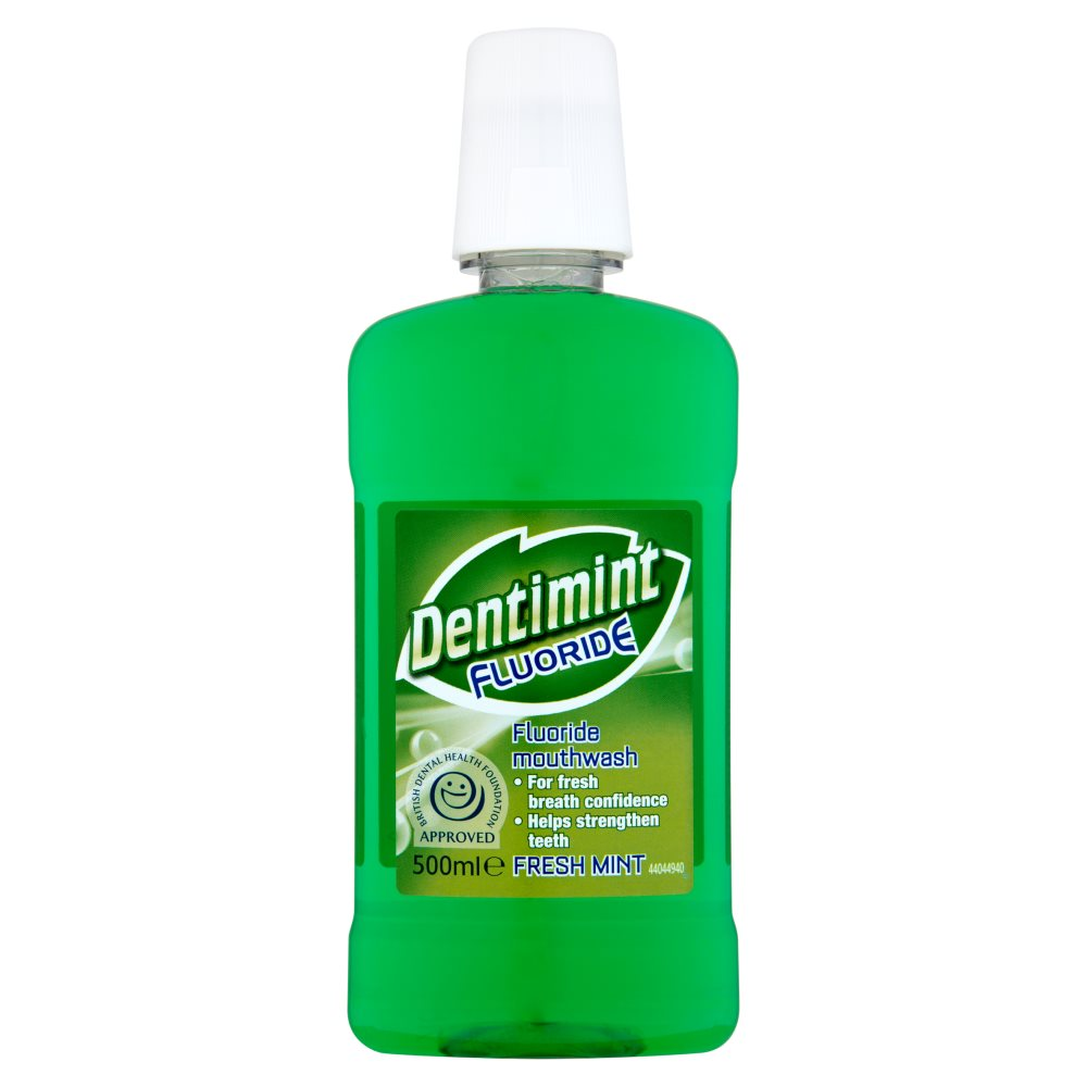 Dentimint Fresh Mint Mouthwash