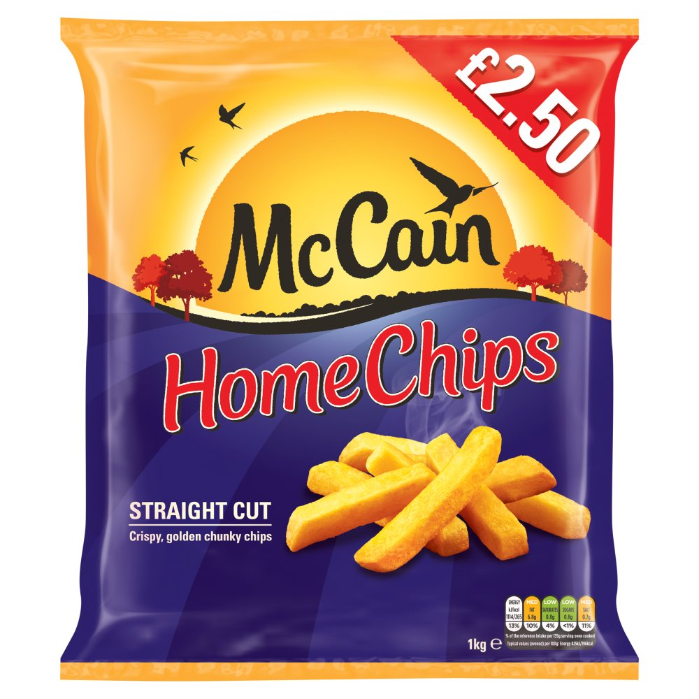 Mccain Home Chips PM £2.50