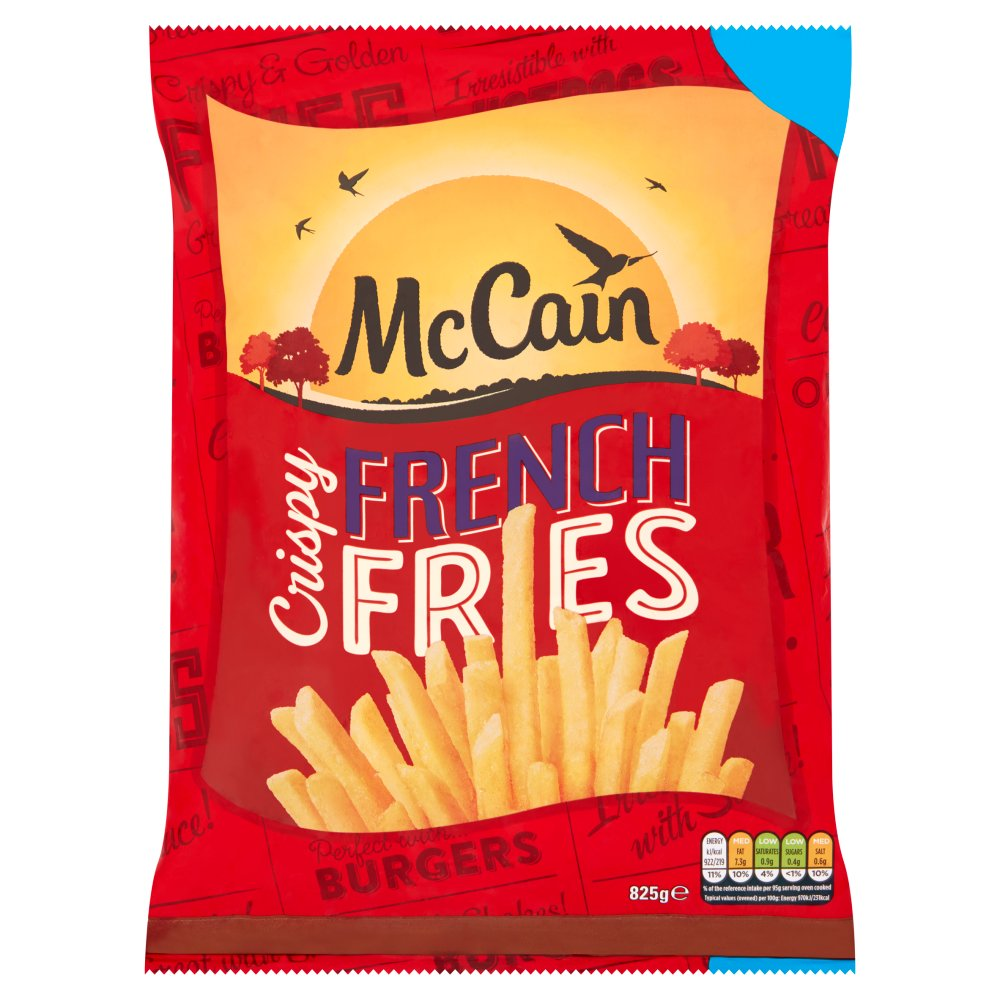 McCain Crispy French Fries 825g