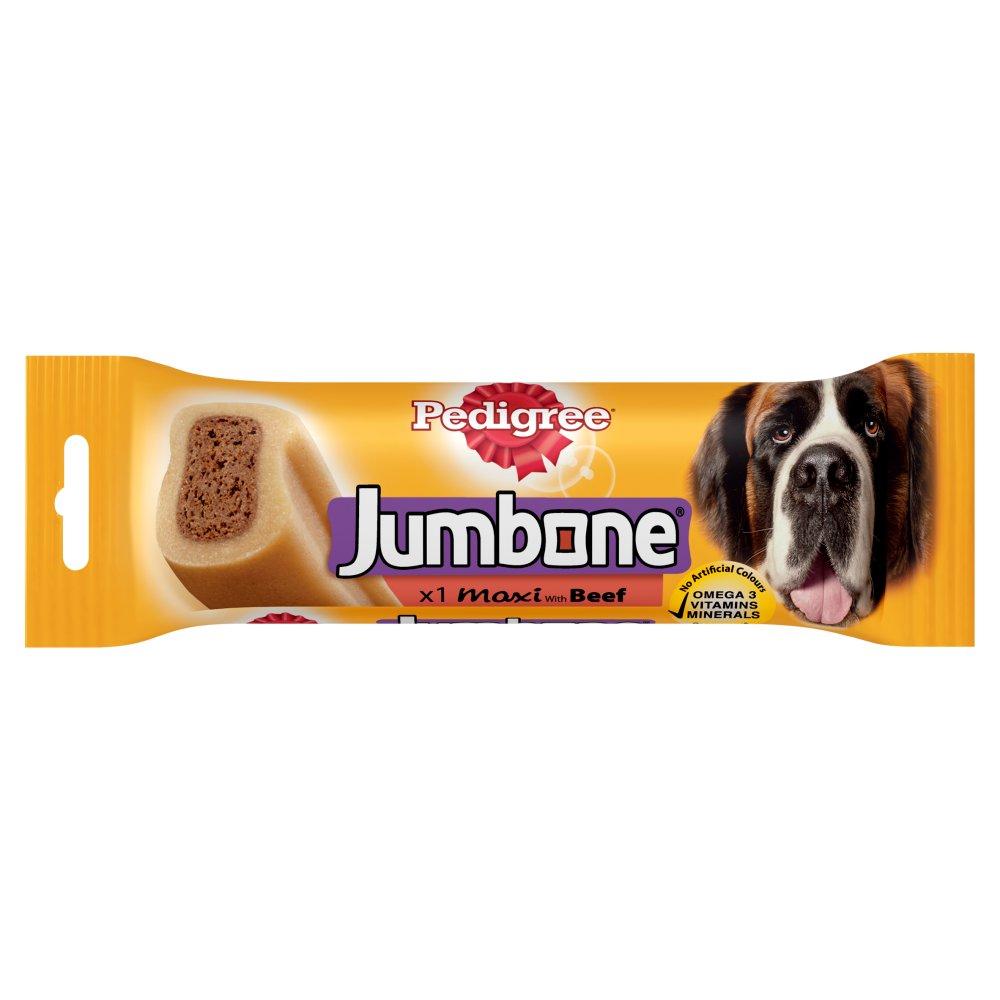 PEDIGREE Jumbone Maxi Dog Treat with Beef 1 Chew