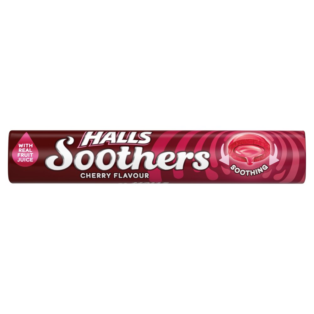 Halls Soothers Cherry Stick