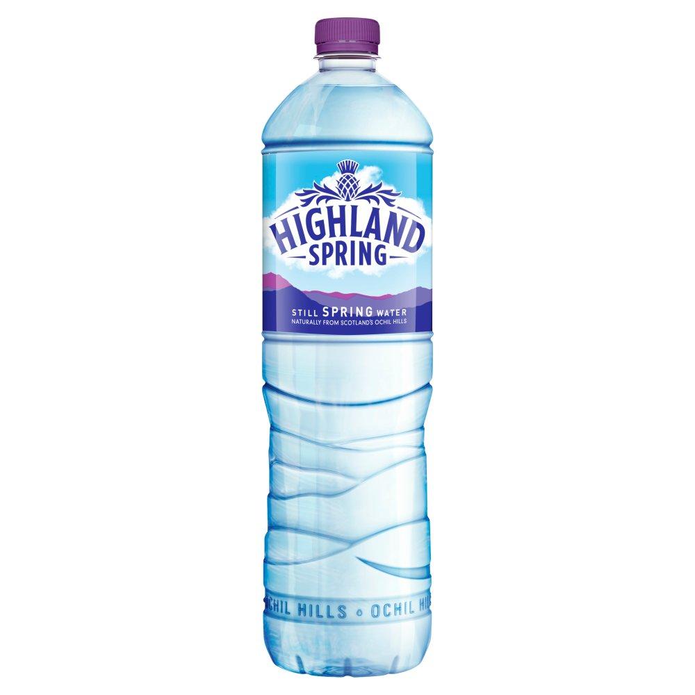 Highland Spring Still Spring Water 1.5Litre