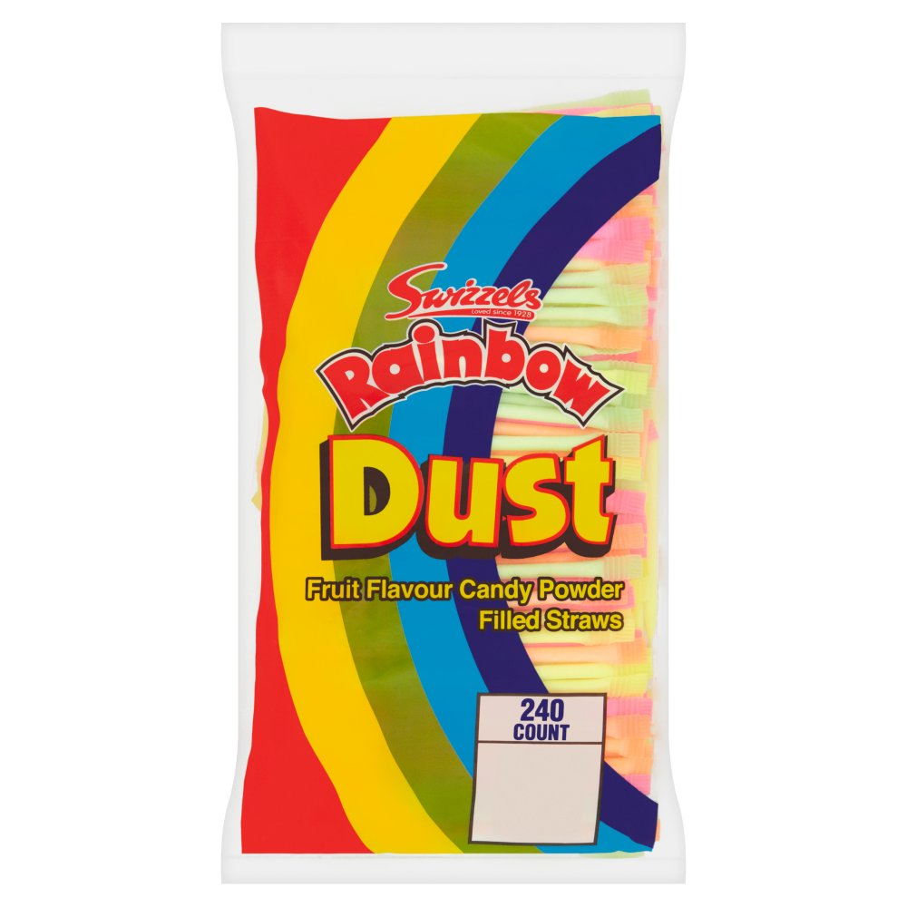 Swizzels Rainbow Dust Straws