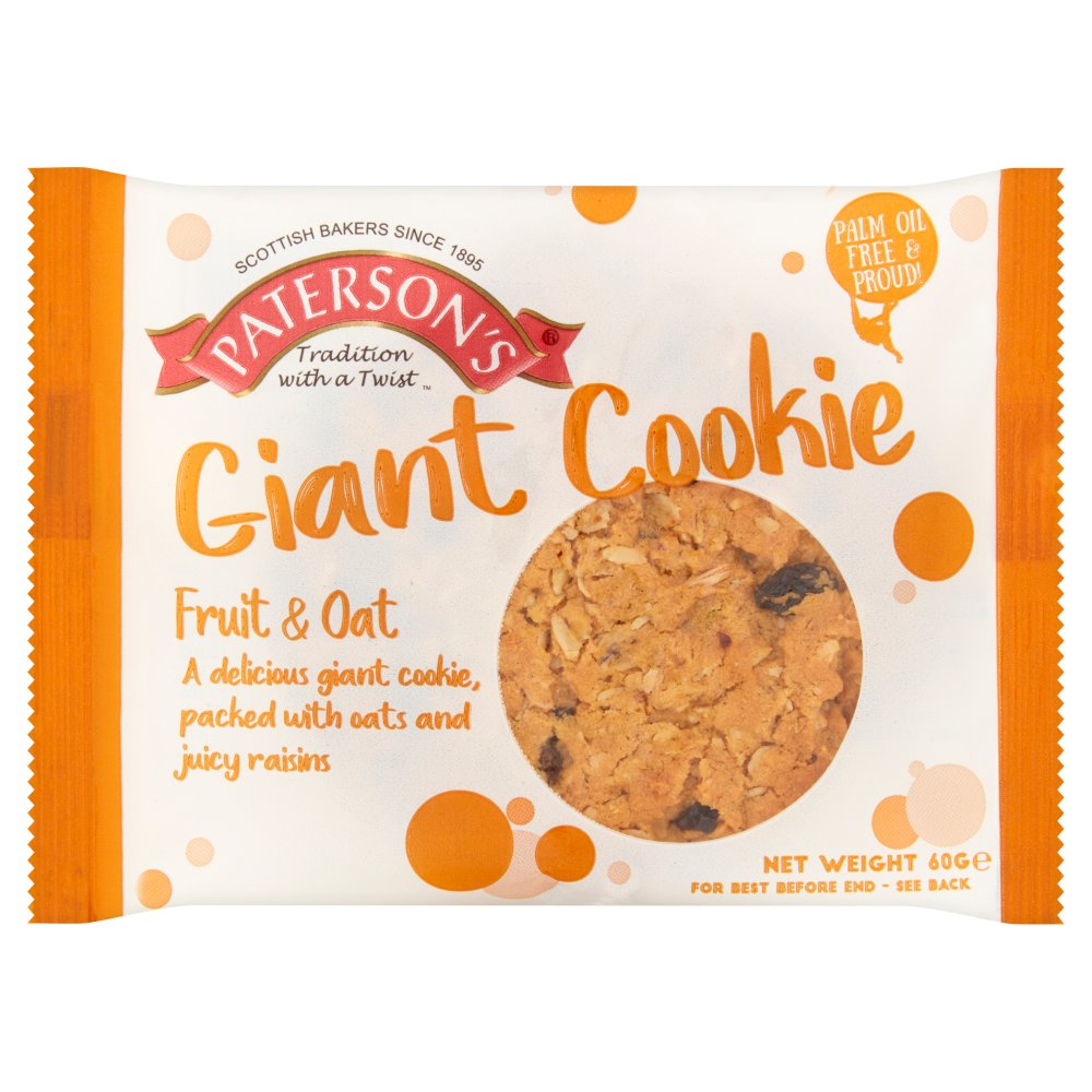 Bronte Giant Fruit & Oat Cookie PM 59p