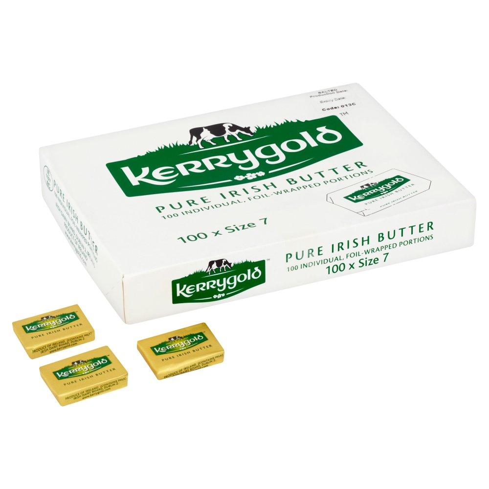 Kerrygold Pure Irish Butter 100 x Size 7
