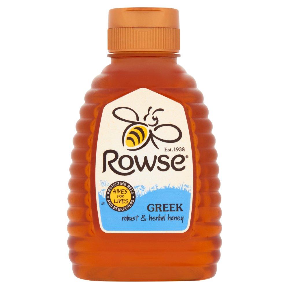 Rowse Greek Robust & Herbal Honey 250g