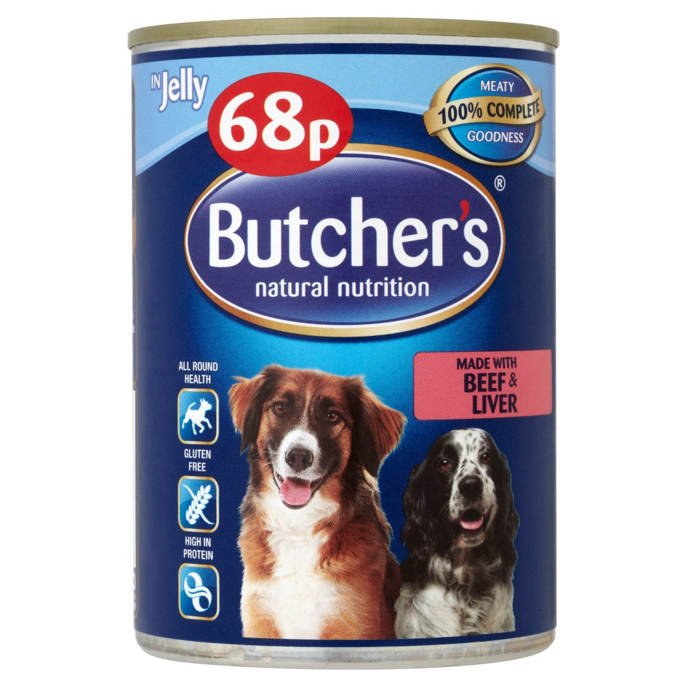 Butchers Beef & Liver PM 68p