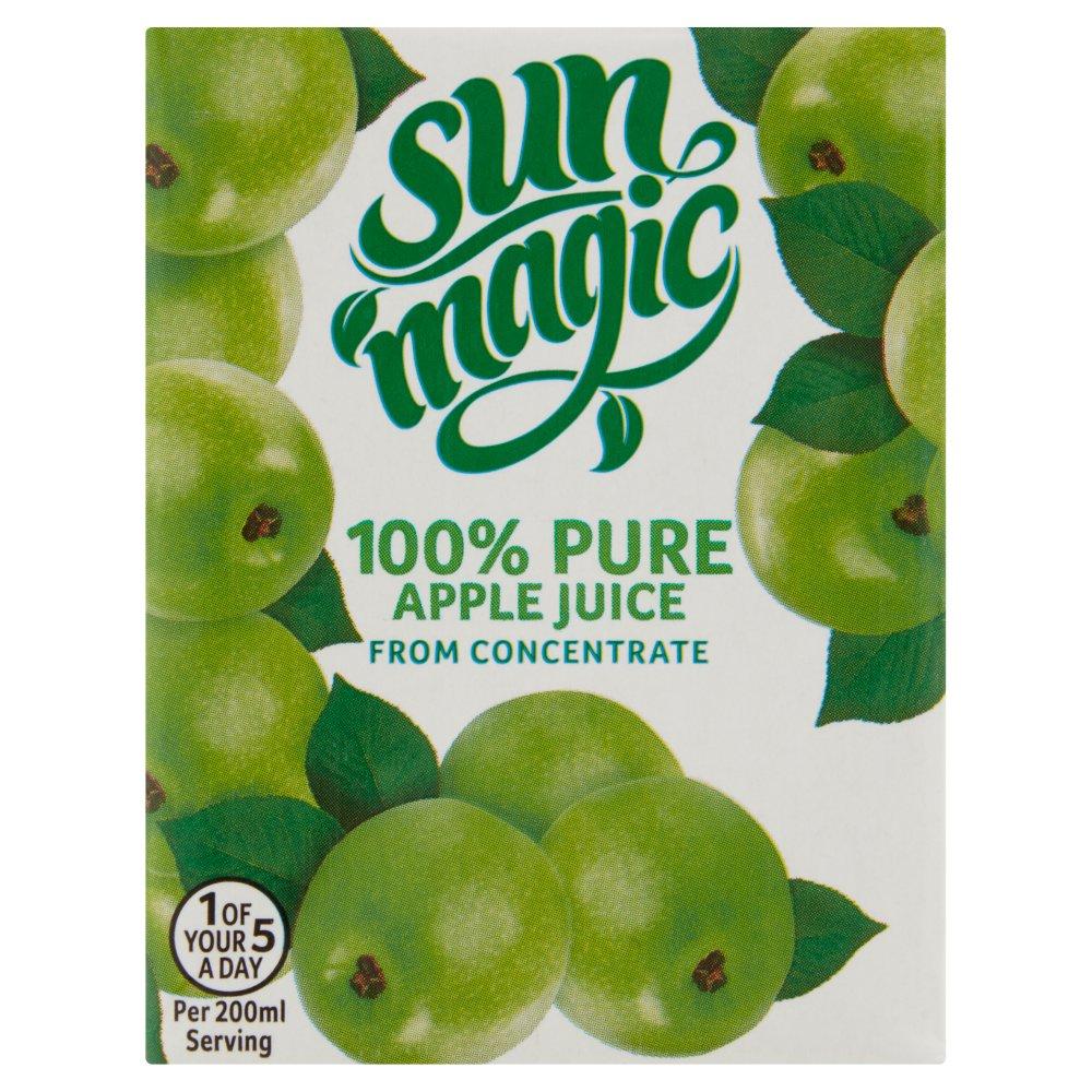 Sunmagic 100% Pure Apple Juice 200ml