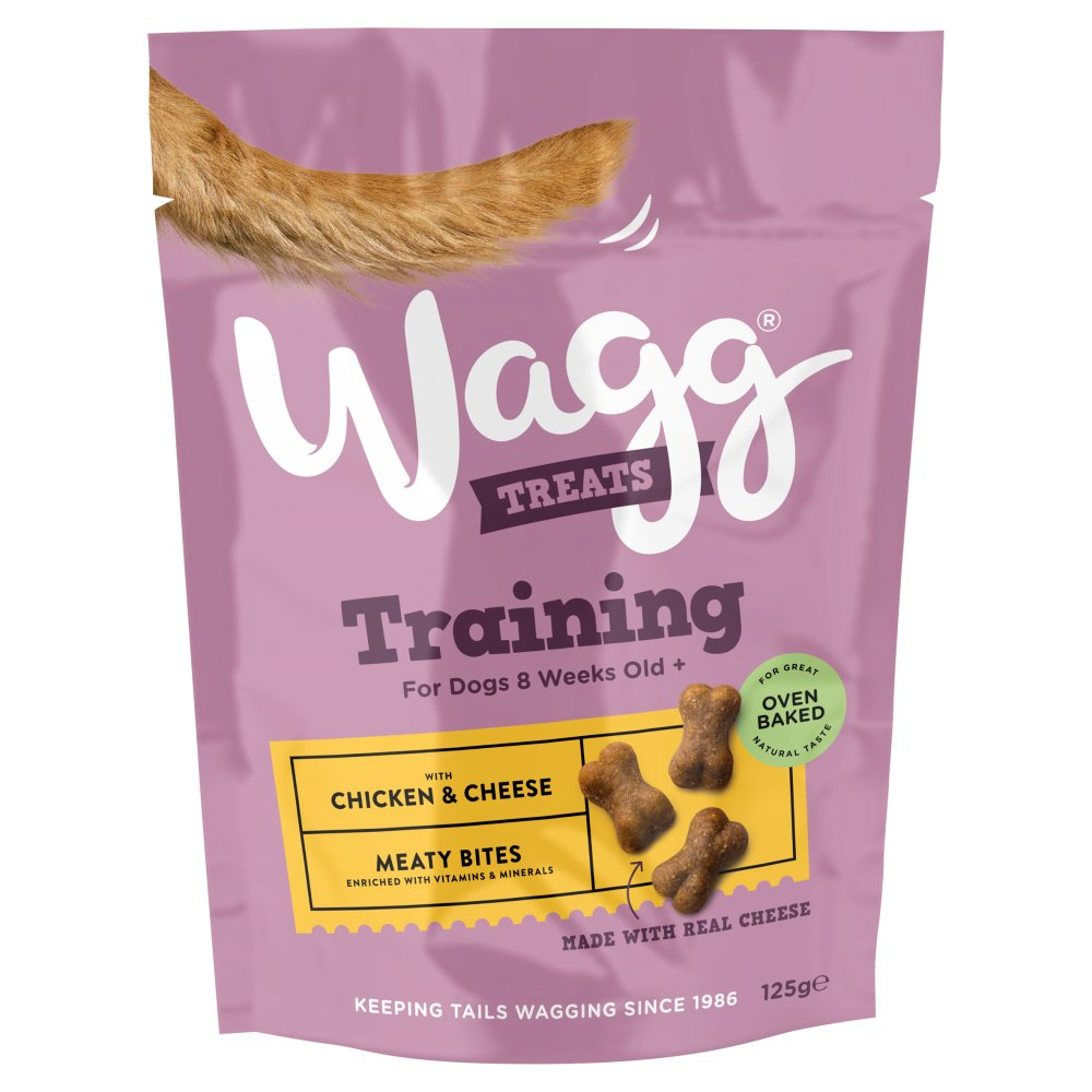 Wagg Training Treats With Chicken & Cheese