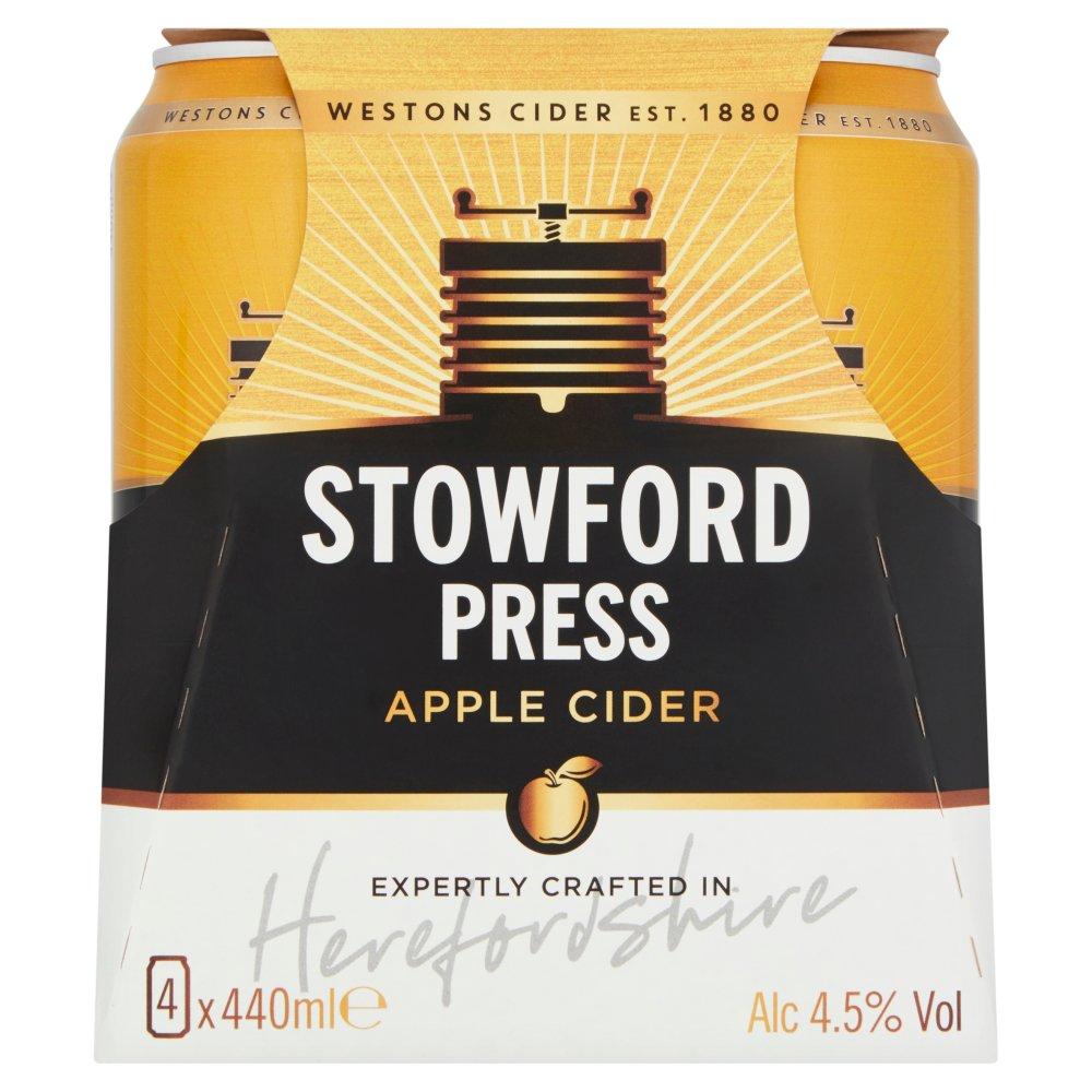 Stowford Press Apple Cider 4 x 440ml