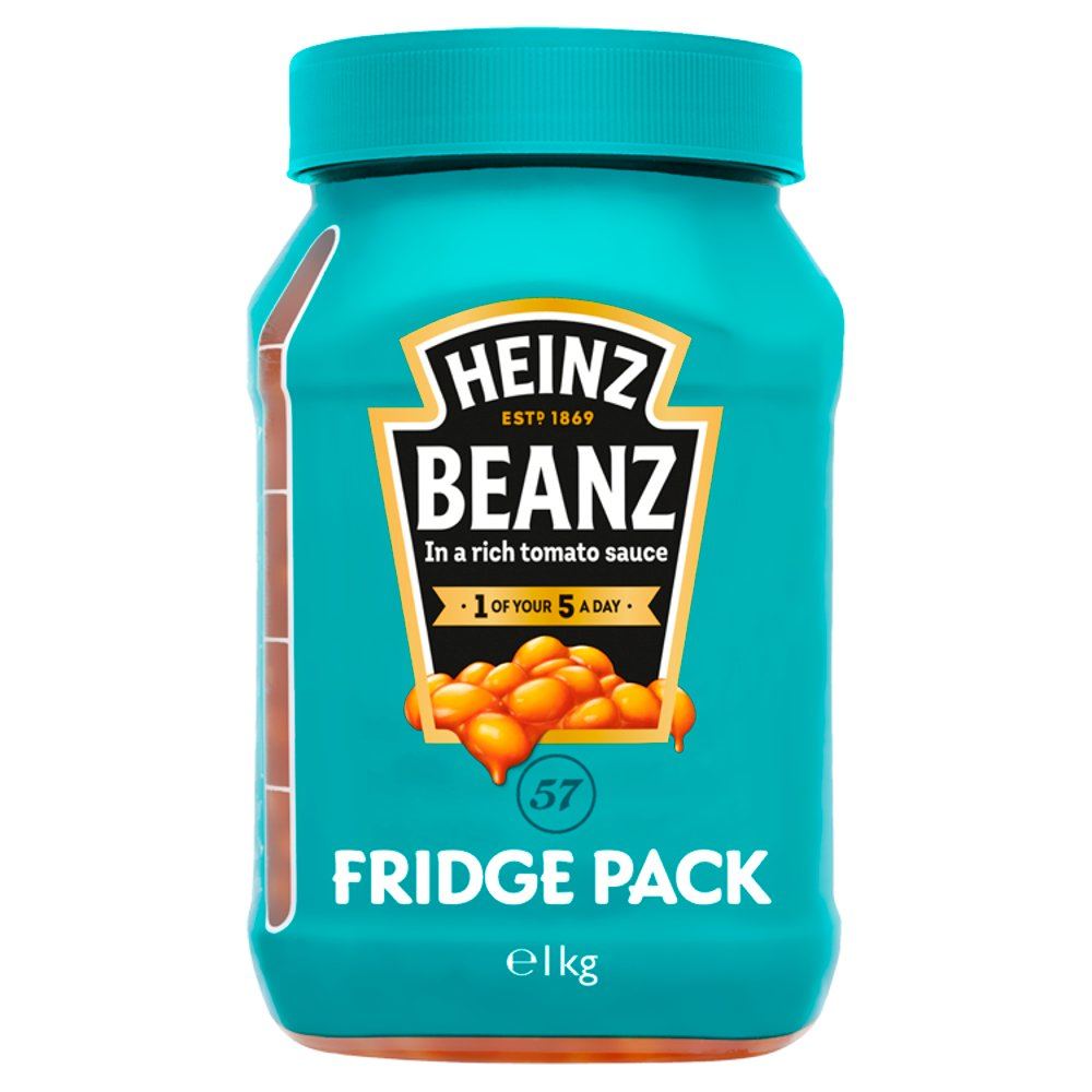 Heinz Beanz Fridge Pack 1kg